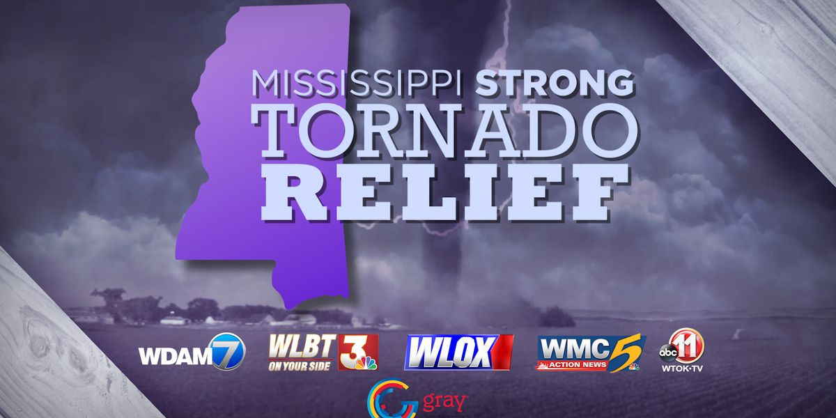 Mississippi Strong: WLOX, Red Cross launch fundraiser for tornado victims
