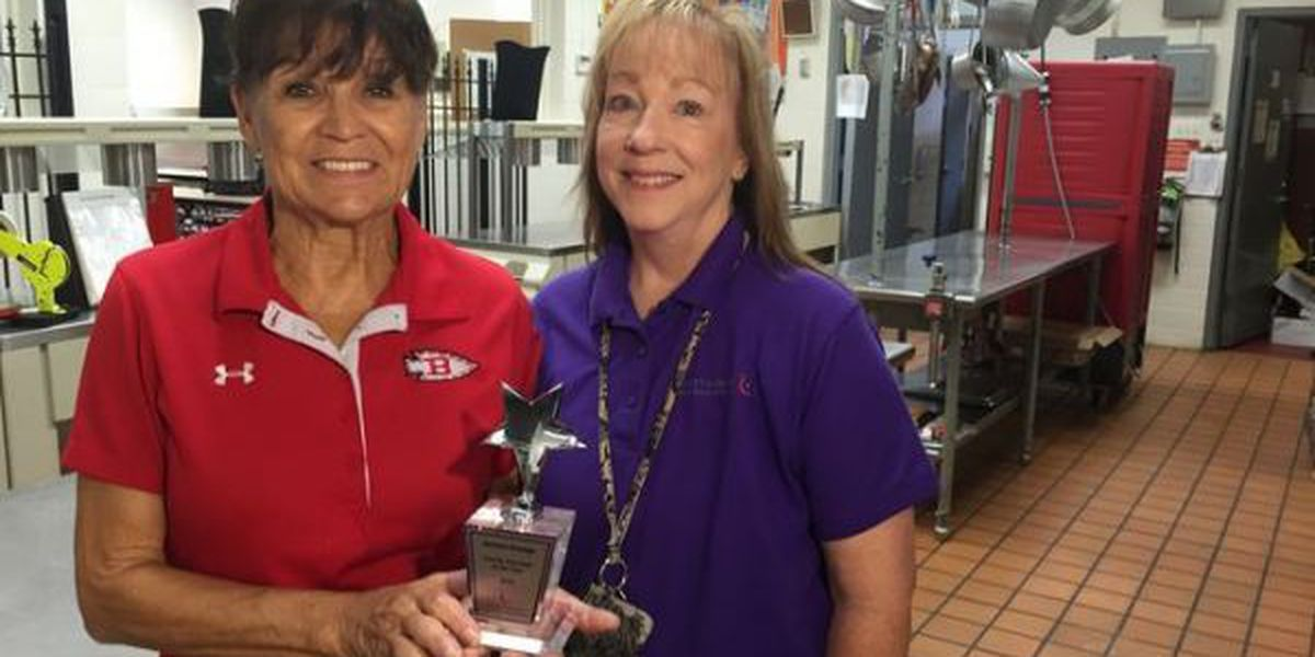 Biloxi cafeteria manager surprised by regional honor