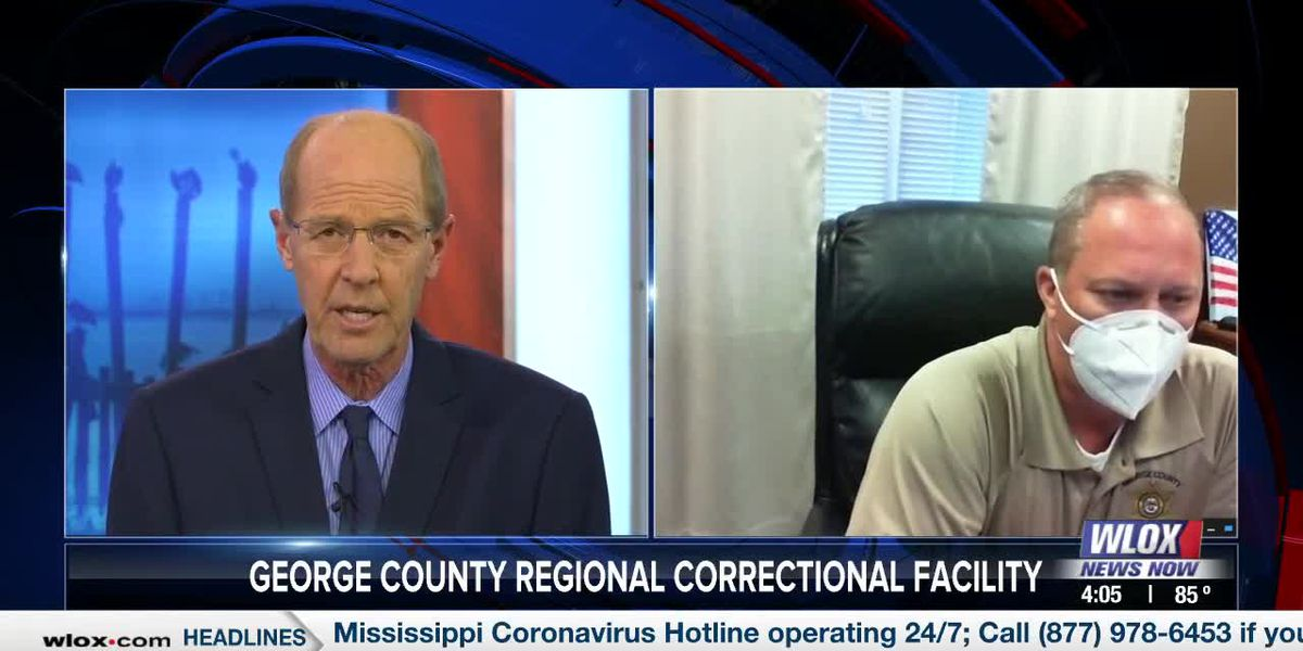 Warden Bobby Fairley on George County prison's COVID-19 outbreak