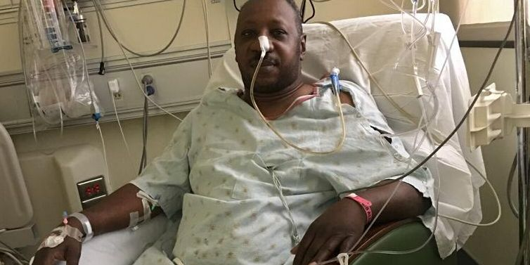 Former law enforcement officer faces long road to recovery after double organ transplant