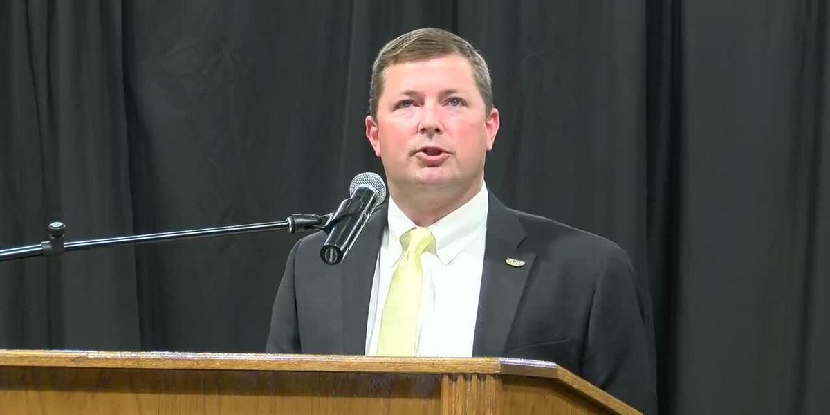 USM introduces Will Hall as head football coach