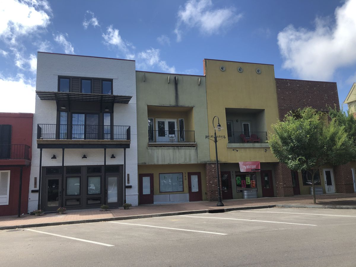 Old retail space transformed into downtown living in Bay St. Louis