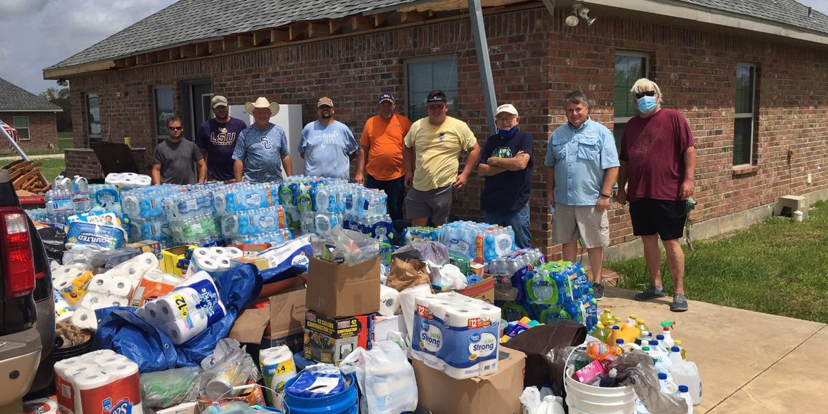 Long Beach church delivers supplies to Hurricane Laura victims