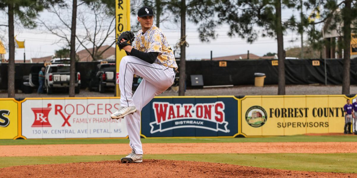 Walker Powell throws eight shutout innings as Southern Miss blanks Missouri State