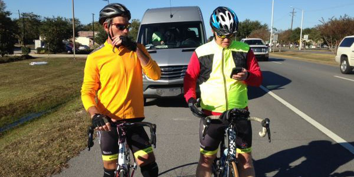 Cycling duo travels cross country to raise awareness for a worthy cause