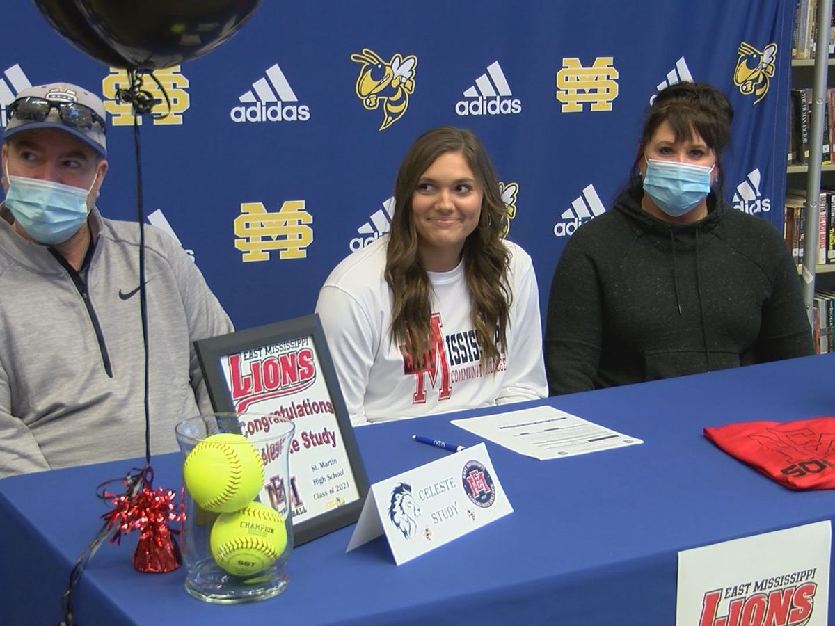 Celeste Study signs with EMCC softball