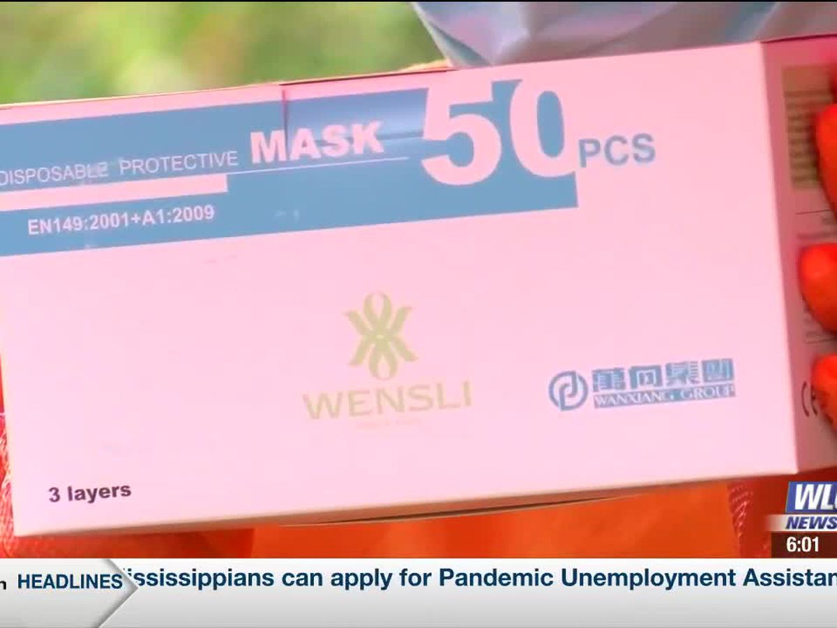 Moss Point-Jackson County NAACP passes out free masks to residents