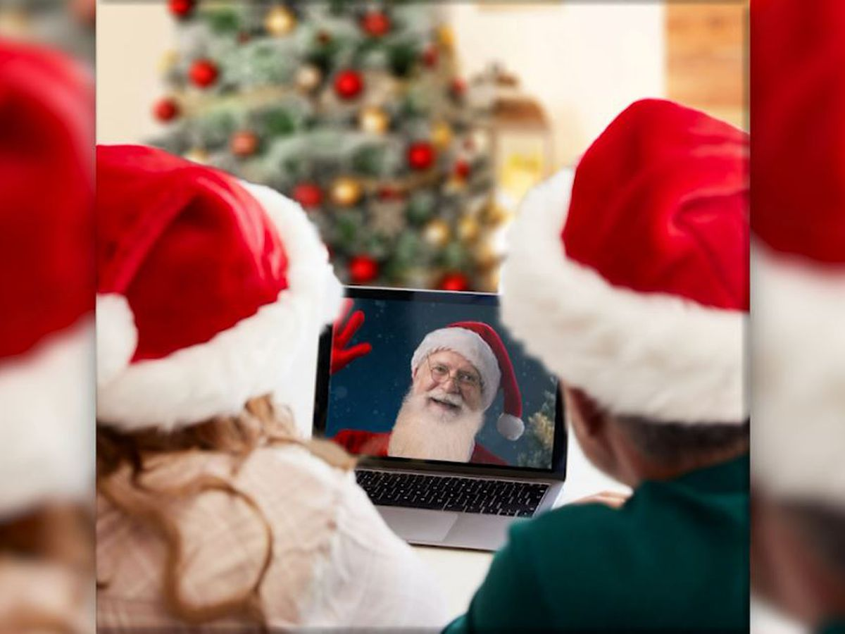 Visits with Santa go virtual this year