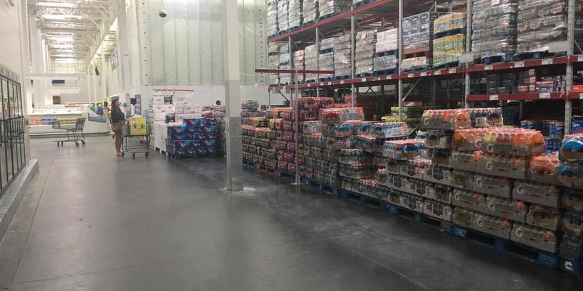 Irma causes shelves to empty at Coast stores