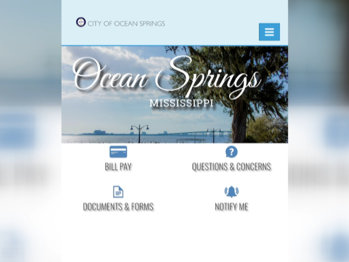 Ocean Springs amping up security with new city website