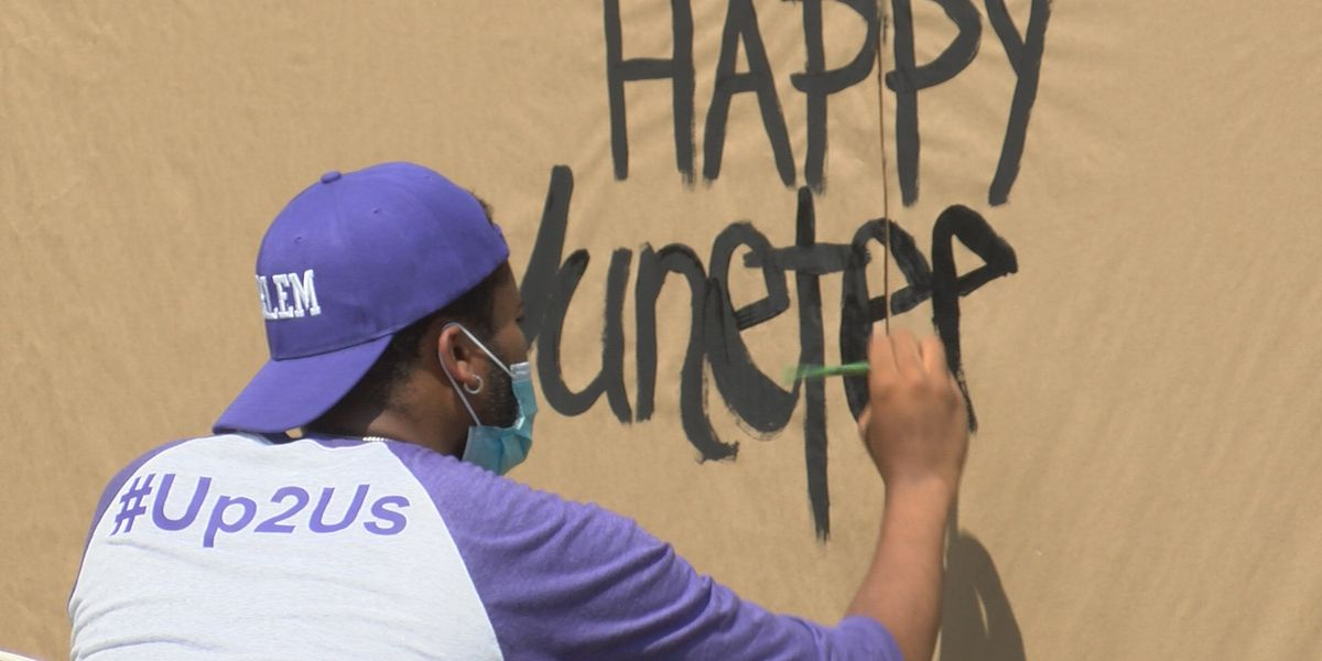 """Celebrate us:"" Jackson residents rejoice for Juneteenth"