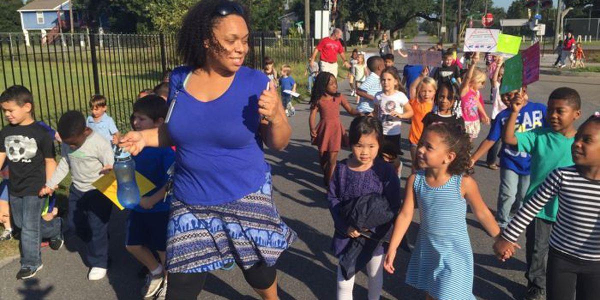 International Walk to School Day gets kids moving