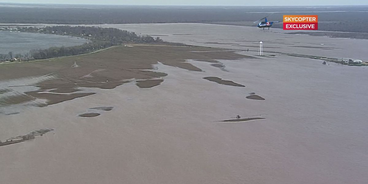 Delta backwater flooding not draining out
