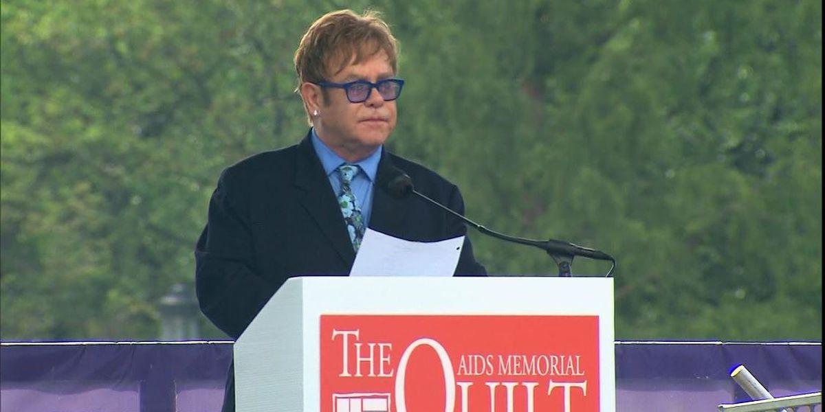 Elton John to host TV, radio concert as coronavirus antidote