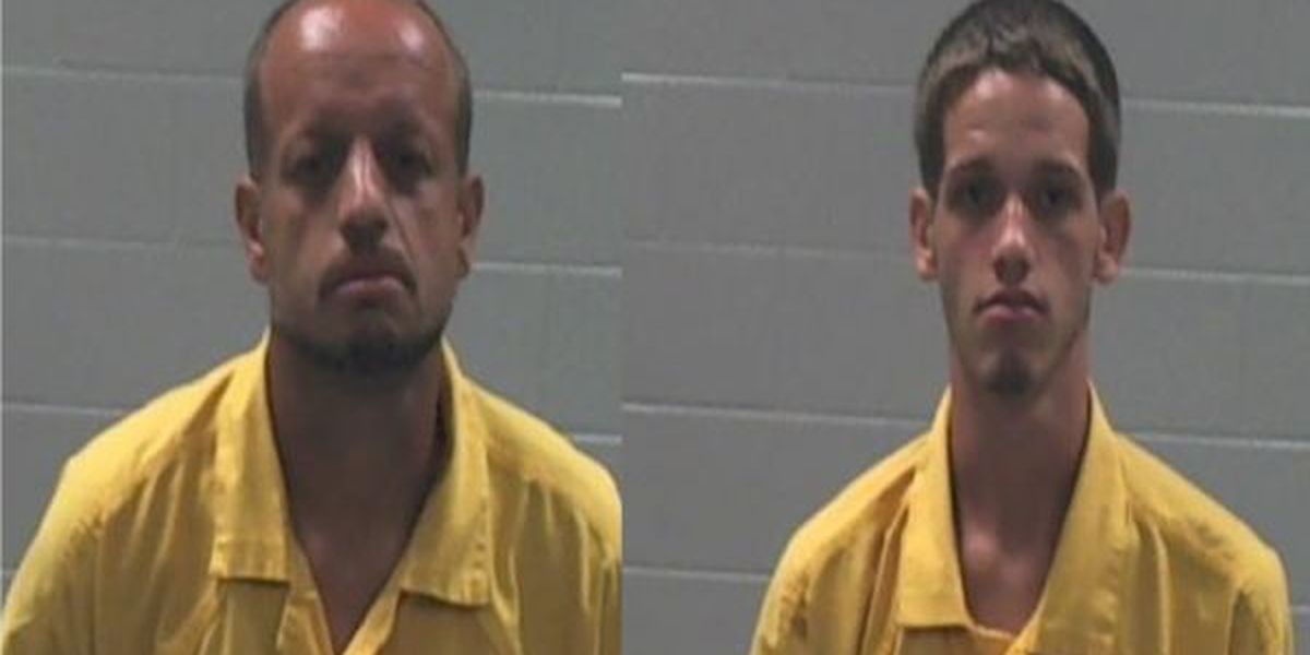 Father, son charged with burglary