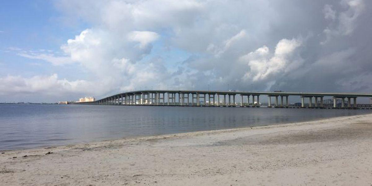 Biloxi-Ocean Springs Bridge a popular exercise spot