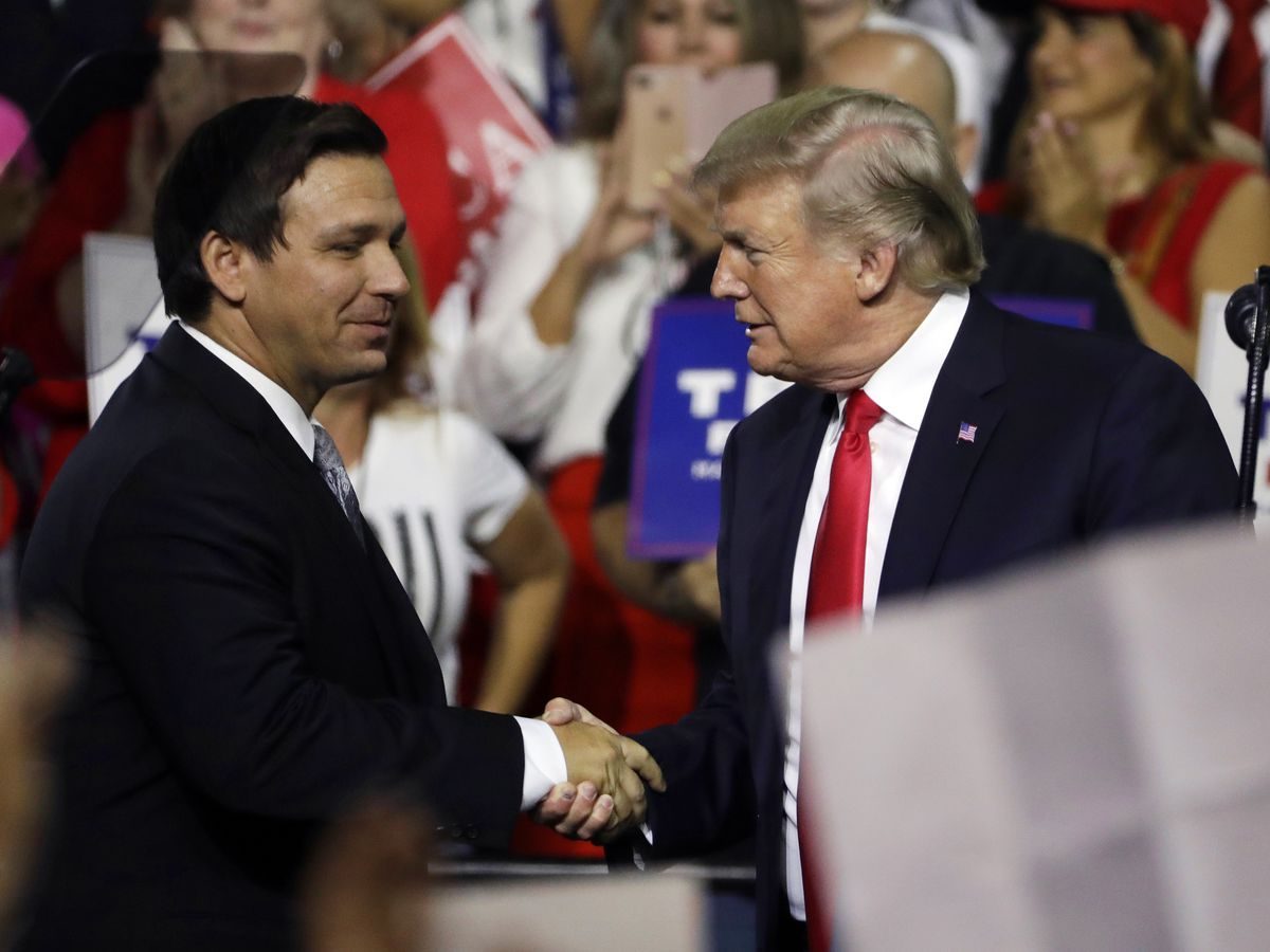 2024 ticket? Trump says he would consider Gov. DeSantis for VP if he ran again