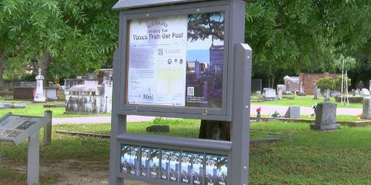 Old Biloxi Cemetery Tour goes digital