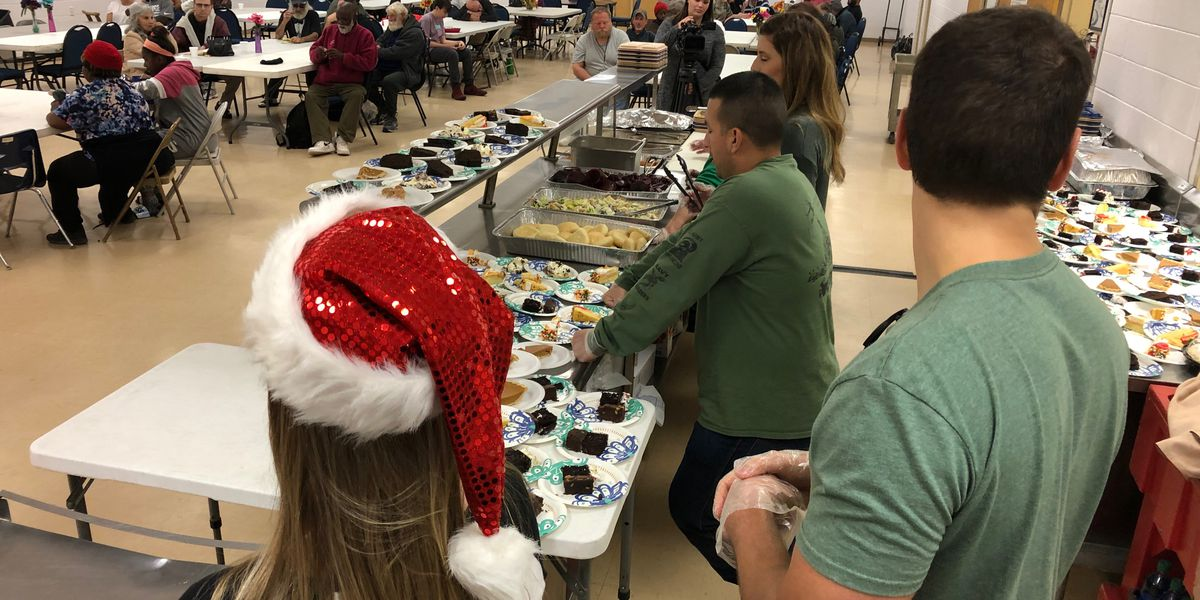 Loaves and Fishes celebrates Christmas