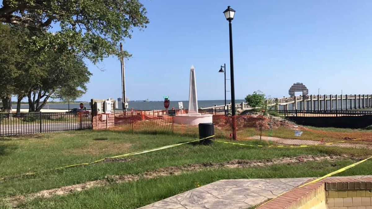 Beach Park renovations underway thanks to late Pascagoula woman's generous gift