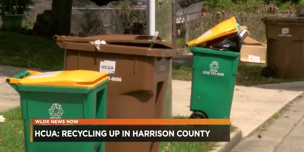 Recycling is up in Harrison County