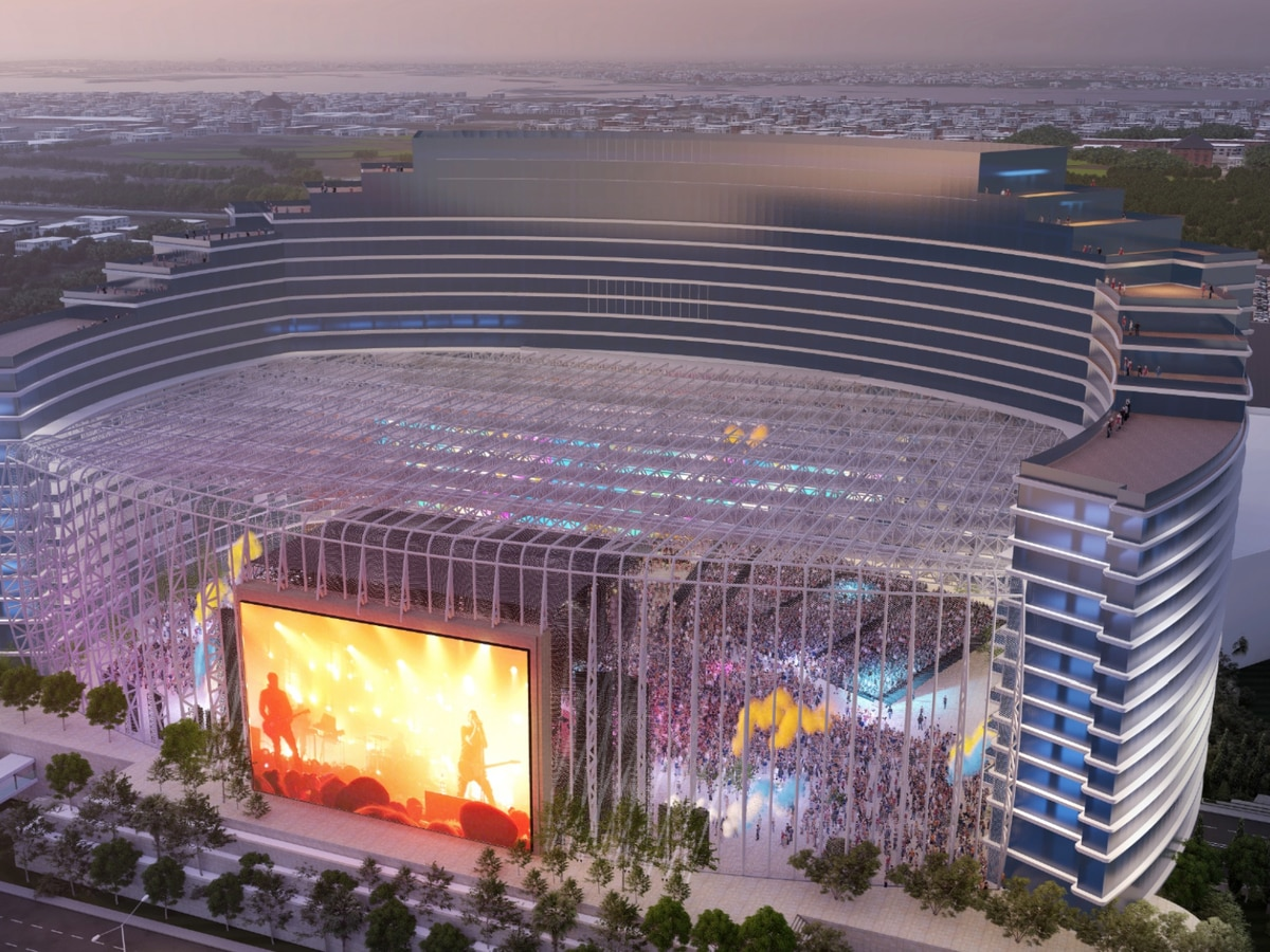Universal Music to build $1.2 billion hotel, entertainment destination in Biloxi