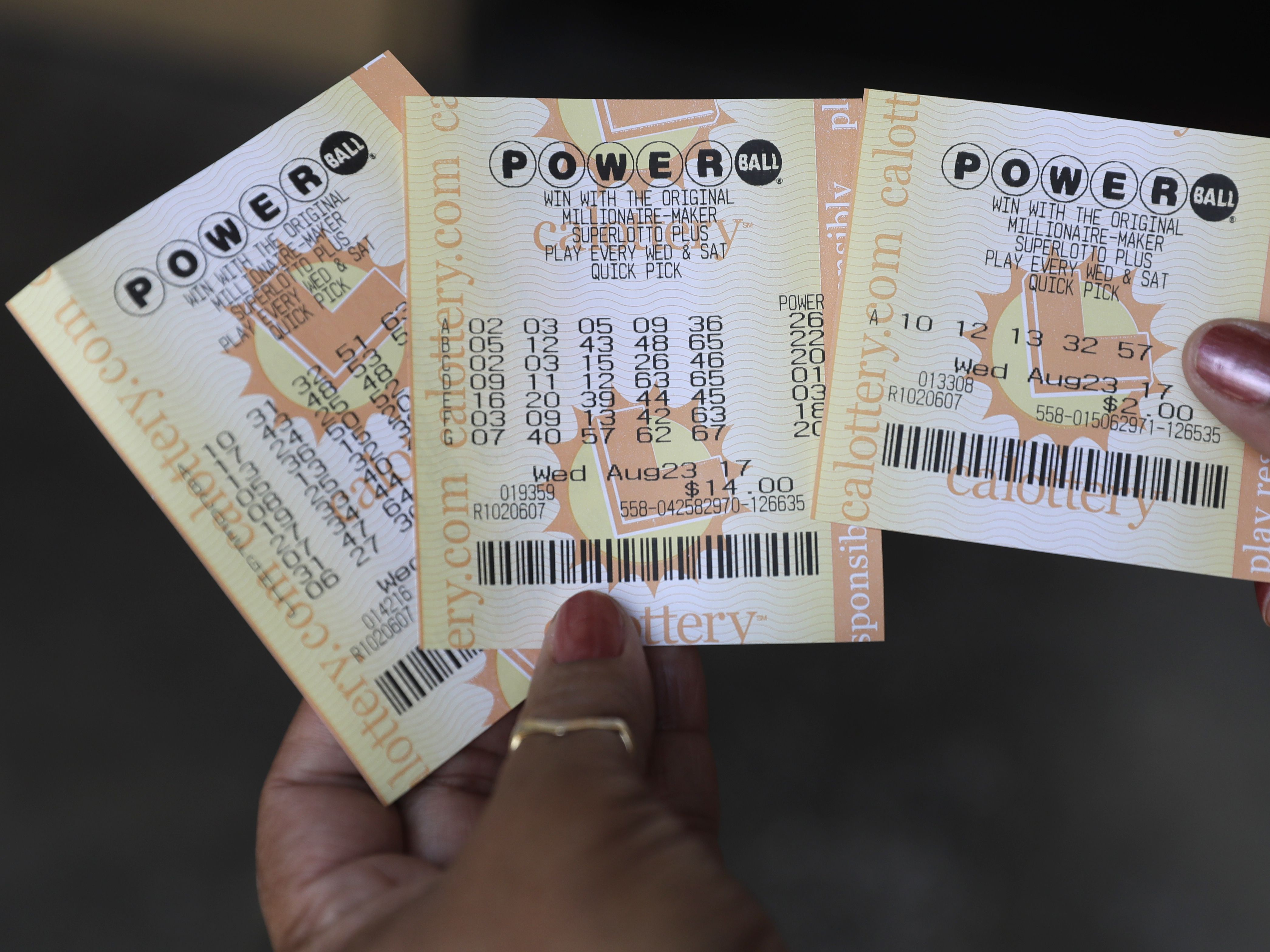 Powerball drawing held for $562 million jackpot