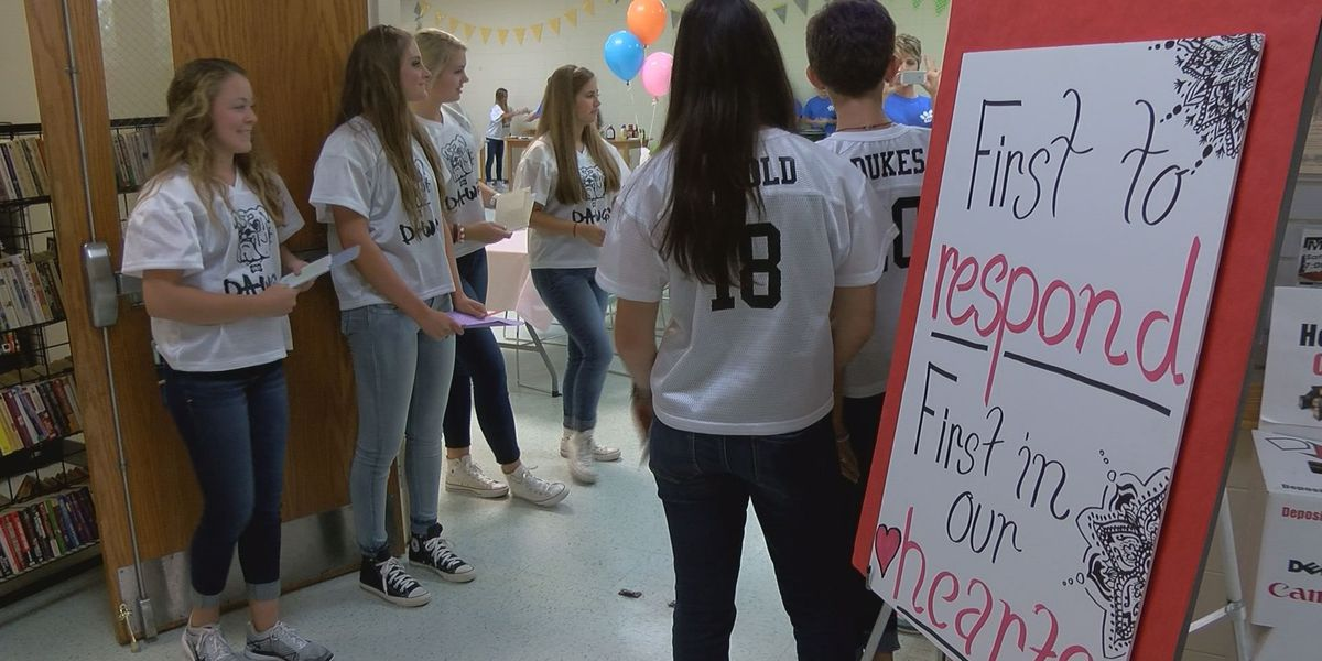 Vancleave dancers say 'Thank you' to law enforcement