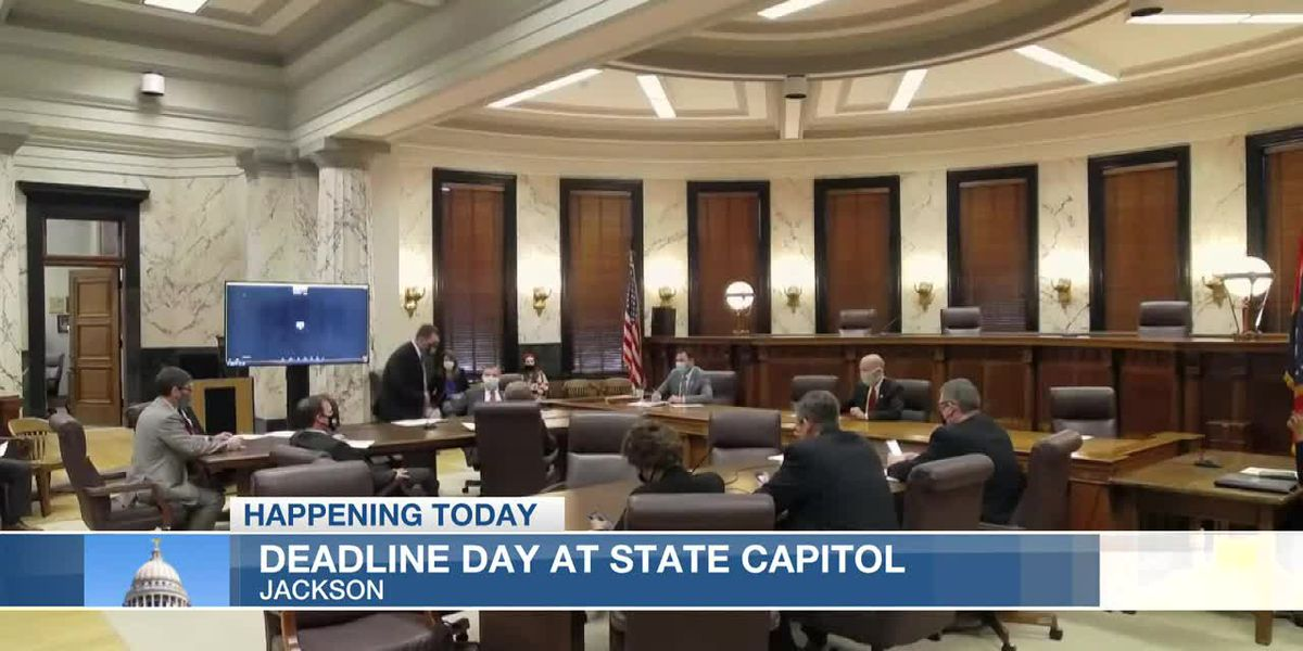 Deadline Day at Miss. State Capitol, bills under review
