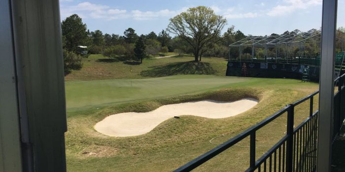 Getting ready for the Mississippi Gulf Resort Classic