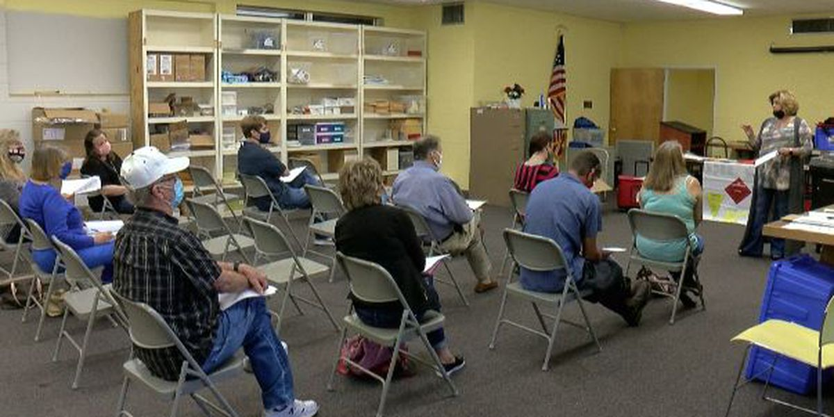 Harrison County poll workers get back to basics ahead of general election