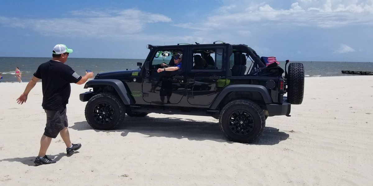 Jeepin' the Coast is off to a good start