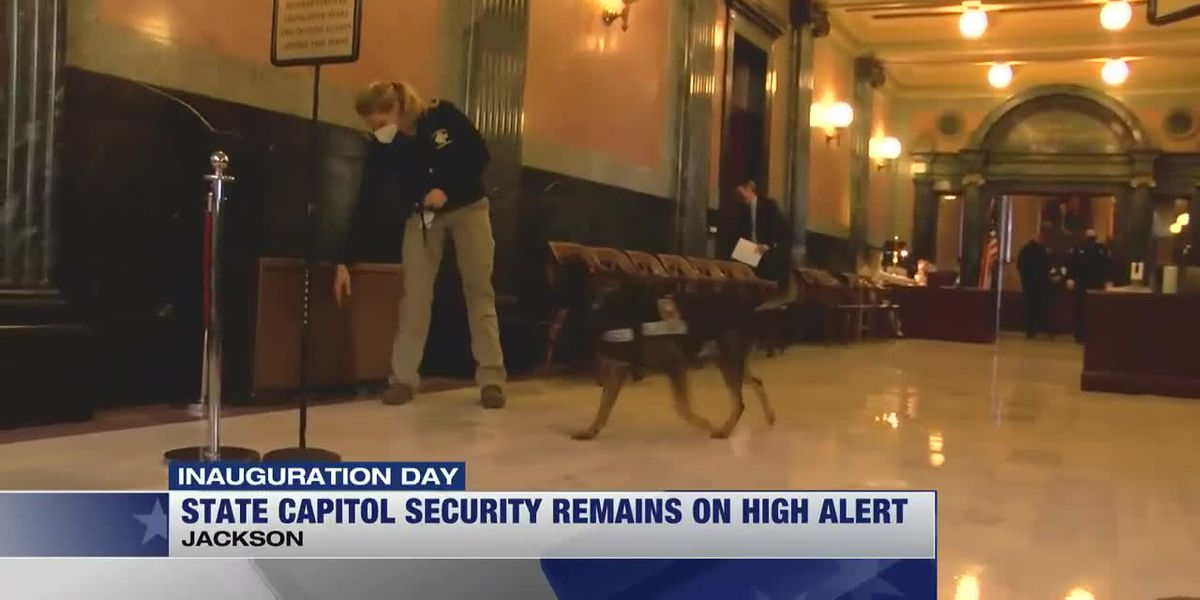 Miss. State Capitol police prepared for potential protests Wednesday