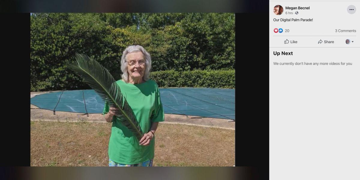 Churchgoers find alternate ways to celebrate Palm Sunday
