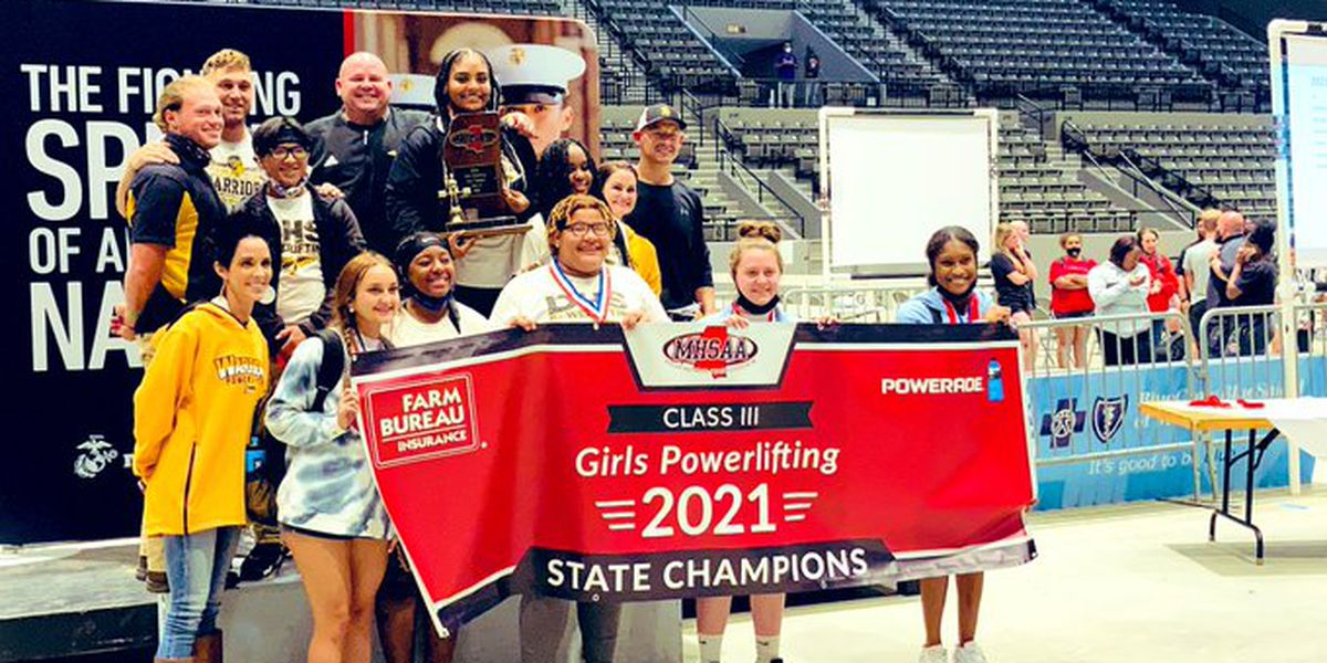 D'Iberville sweeps boys, girls powerlifting state titles