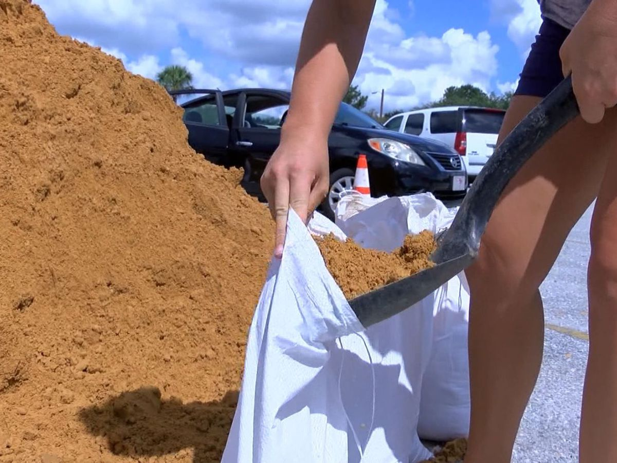LIST: Sandbag stations in South Mississippi