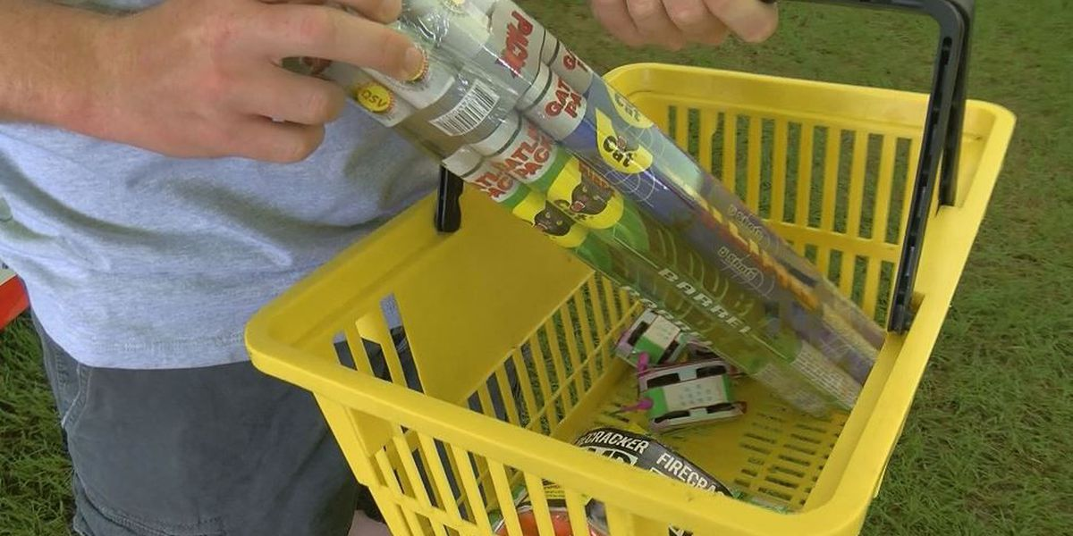 Fireworks sales picking up after soggy start