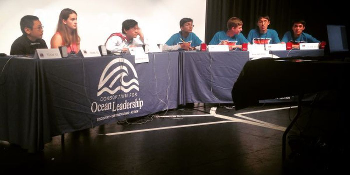 OS High hosts 18th National Ocean Sciences Bowl