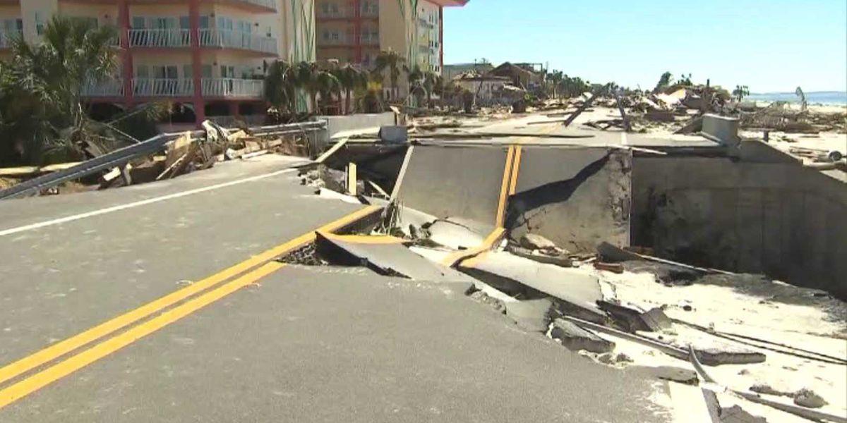 Hurricane Michael leaves trail of destruction