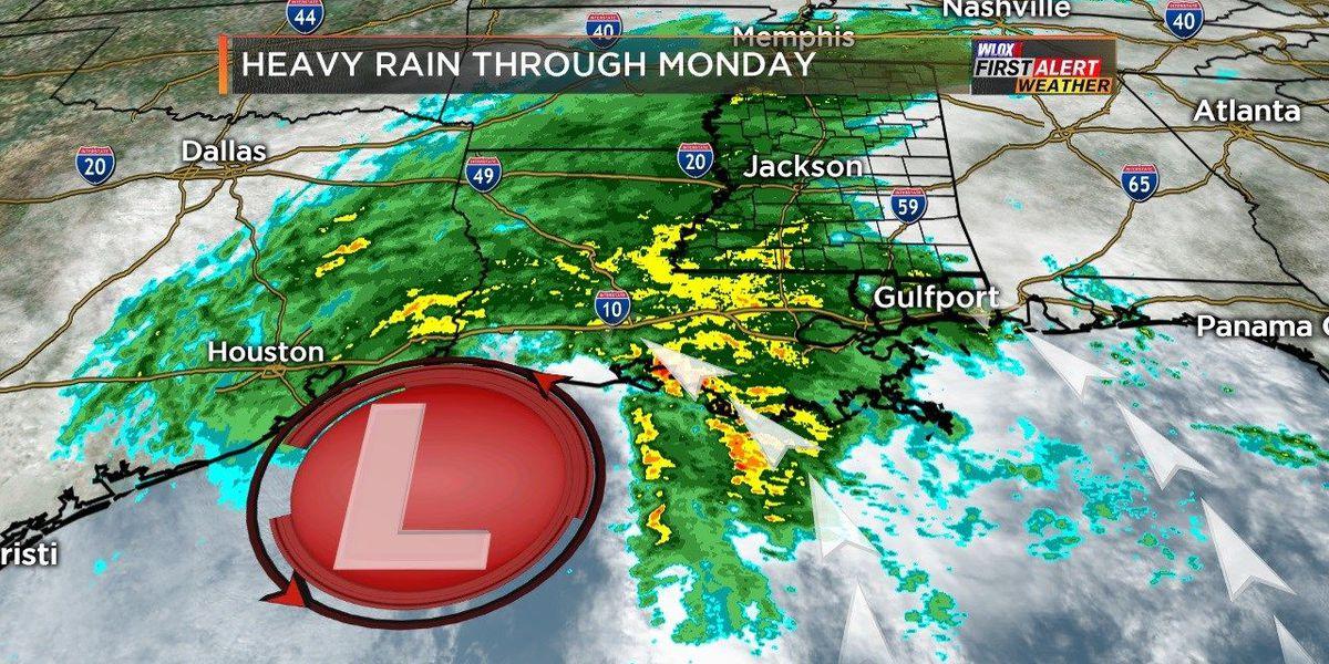Wesley's Blog: Heavy rain brings flood threat