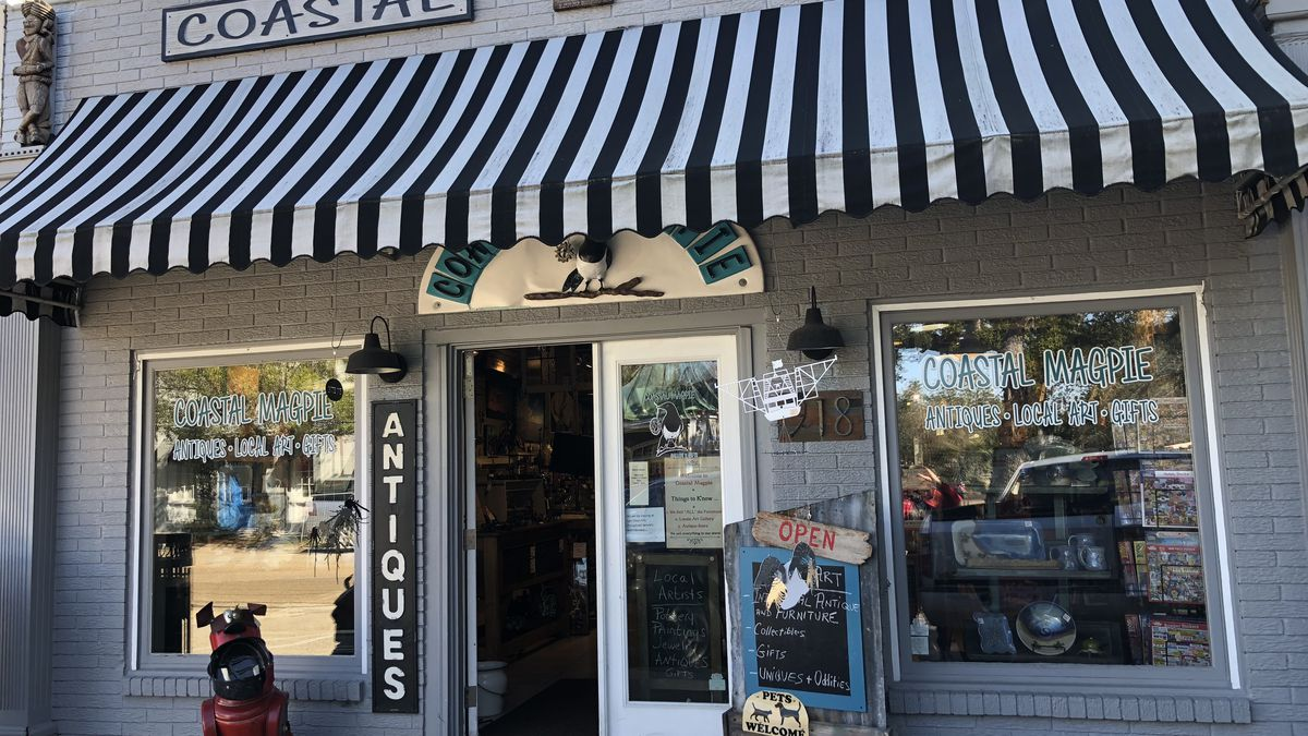 Page 13: A gift store in Ocean Springs is like a museum