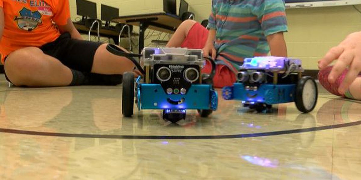 Harrison County School District joins the race in robotics