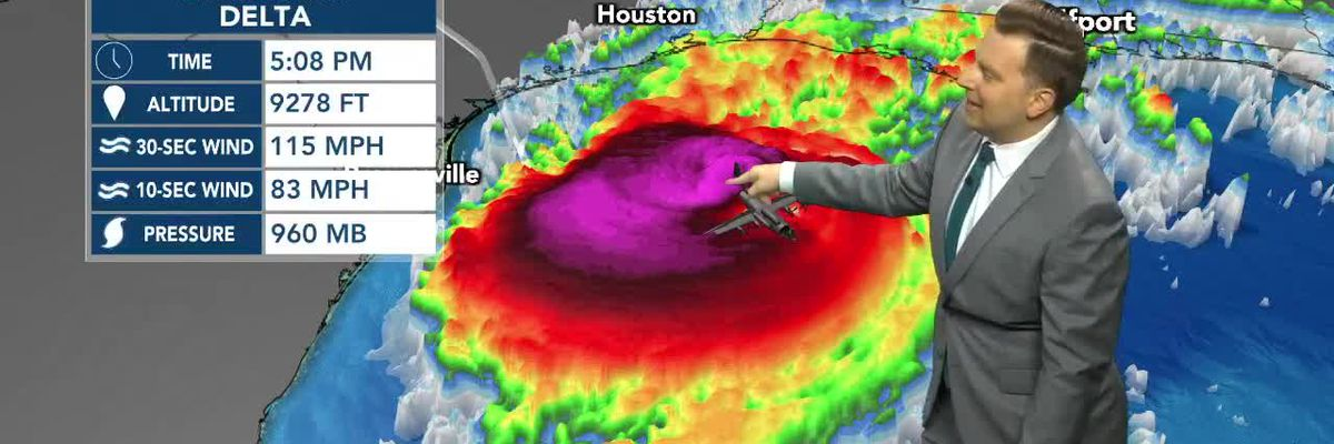 Delta regains major hurricane status; main impacts for Louisiana, some for South Mississippi