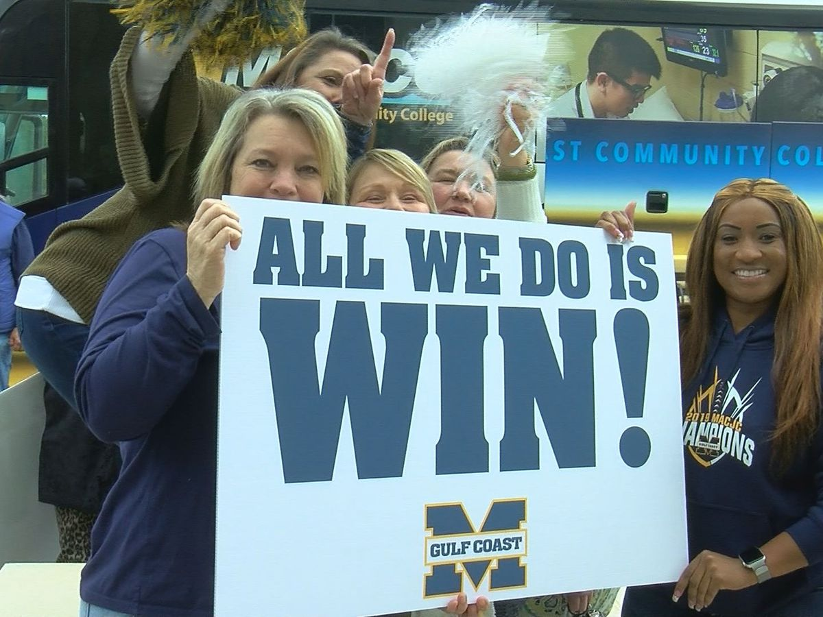 MGCCC Bulldogs return home with hero's welcome