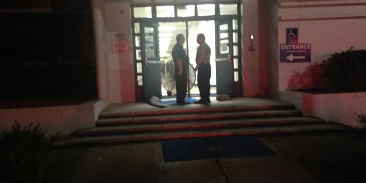 Moss Point High catches fire, school canceled Monday