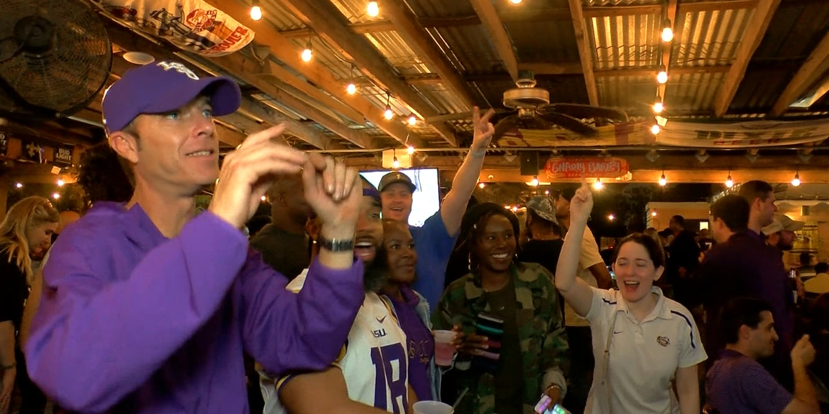 LSU fans look ahead to National Championship game