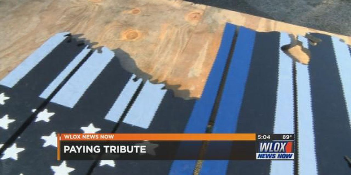 A special tribute for Baton Rouge fallen officers