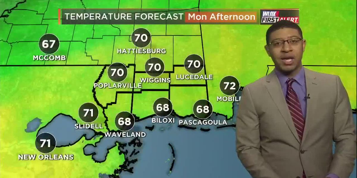 Wesley's Monday Morning First Alert Forecast