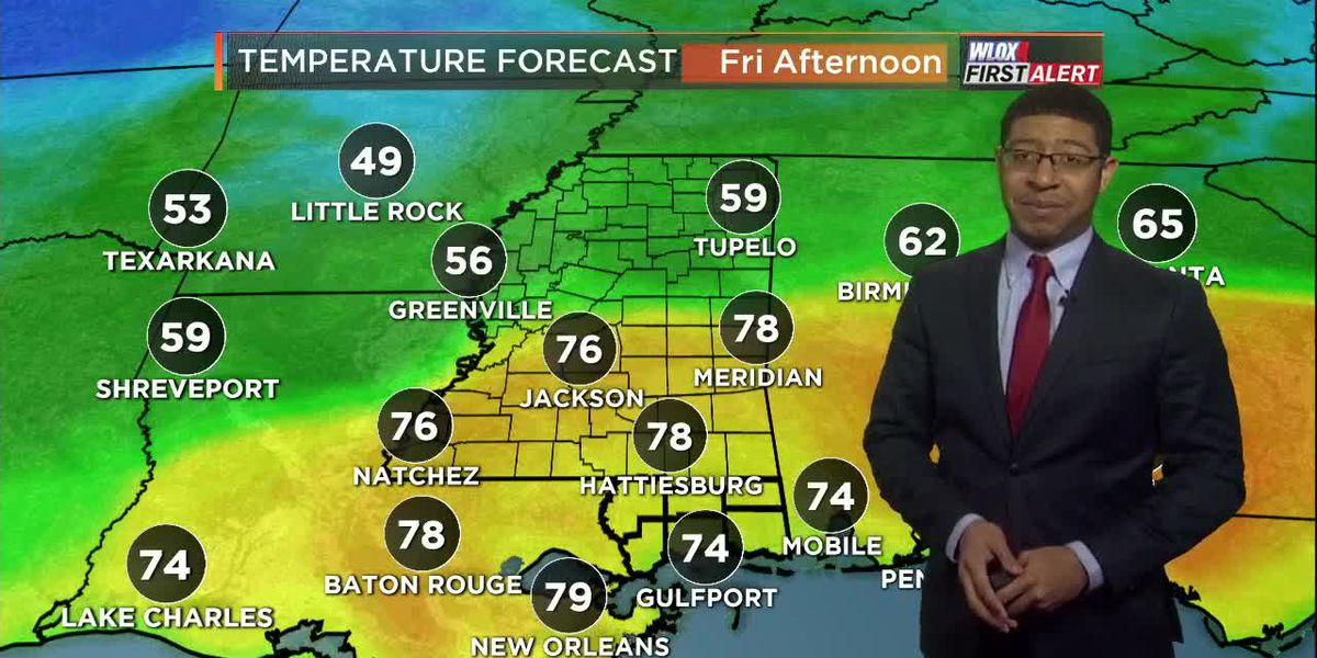 Wesley's Friday Morning First Alert Forecast