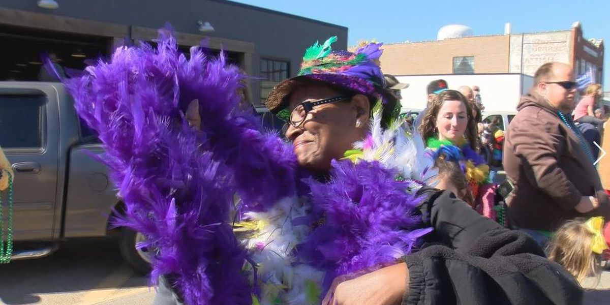 Krewe of Gemini rolls through downtown Gulfport for its 51st year